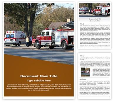 Accidents Emergency Free Word Template, freetemplatestheme.com