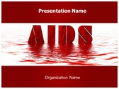 Free AIDS PowerPoint Template Background, FreeTemplatesTheme