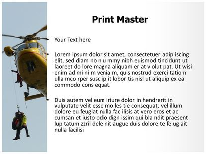Ambulance Powerpoint Template | Free Air Ambulance Powerpoint Template Freetemplatestheme Com