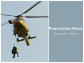 Free Air Ambulance PowerPoint Template Background, FreeTemplatesTheme
