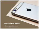Free Apple Iphone Camera PowerPoint Template Background, FreeTemplatesTheme