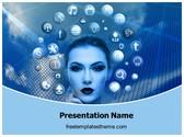Free Apple Siri PowerPoint Template Background, FreeTemplatesTheme