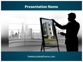 Free Architect PowerPoint Template Background, FreeTemplatesTheme