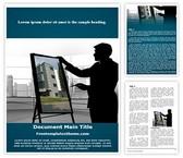 Free Architect Word Template Background, FreeTemplatesTheme