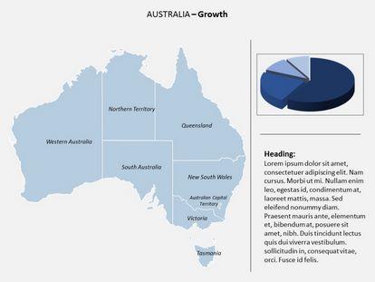 Australia Powerpoint Map, PPT Slide3