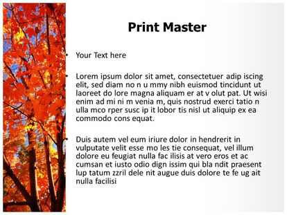 Autum Fall Free PPT Template Slide3