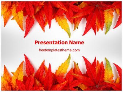 Free autumn abstract powerpoint template freetemplatestheme slide1g toneelgroepblik Choice Image