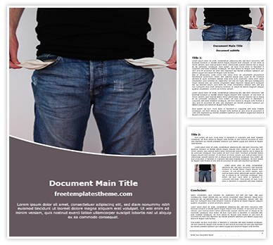 Bankruptcy Free Word Template, freetemplatestheme.com