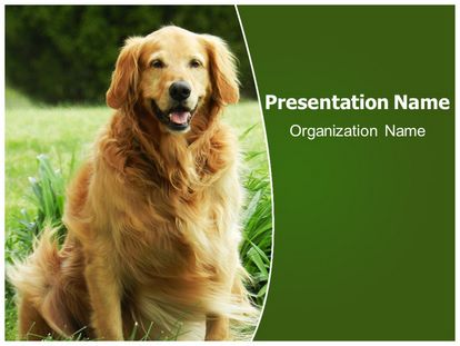boring but big template - free best friend dog powerpoint template