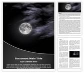 Free Black Night Word Template Background, FreeTemplatesTheme