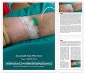 Free Blood Donation Word Template Background, FreeTemplatesTheme