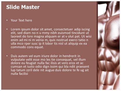 Bodybuilder Free Powerpoint Background, PPT Slide2