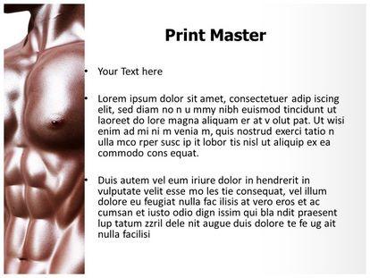 Bodybuilder Free Powerpoint Background, PPT Slide3