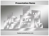 Free Building Architecture PowerPoint Template Background, FreeTemplatesTheme