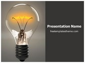 Free Bulb Energy PowerPoint Template Background, FreeTemplatesTheme