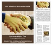 Free Business Bribery Word Template Background, FreeTemplatesTheme