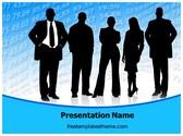 Free Business Team PowerPoint Template Background, FreeTemplatesTheme