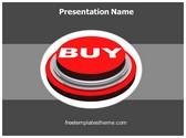 Free Buy Button PowerPoint Template Background, FreeTemplatesTheme