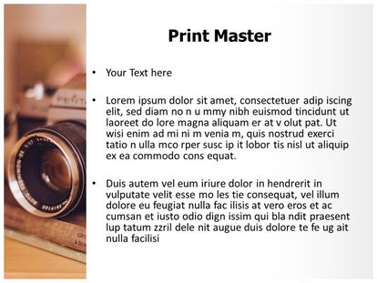 Free camera photography powerpoint template freetemplatestheme slide1g slide2g slide3g toneelgroepblik Images