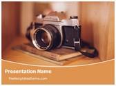 Free Camera Photography PowerPoint Template Background, FreeTemplatesTheme