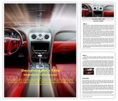 Free Car Dashboard Word Template Background, FreeTemplatesTheme