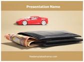 Free Car Loan PowerPoint Template Background, FreeTemplatesTheme