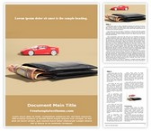 Free Car Loan Word Template Background, FreeTemplatesTheme