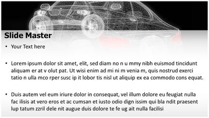 Car Modeling Free PPT Template Theme Widescreen, PPT Slide2