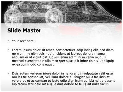 Car Modeling Free PPT Template Theme, PPT Slide2