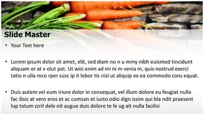 Carrots Vegetable Free Powerpoint Template Design Widescreen Slide2