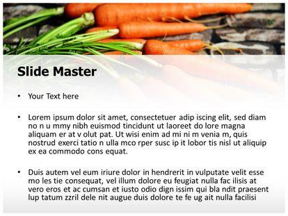 Carrots Vegetable Free Powerpoint Template Design Slide2