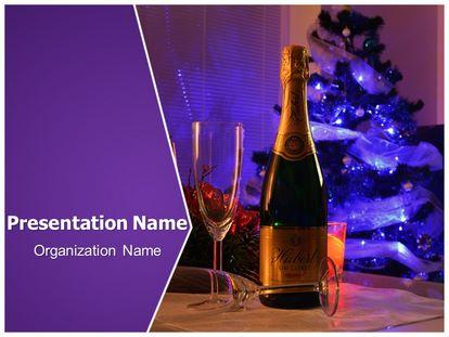 Free celebration champagne powerpoint template freetemplatestheme slide1g toneelgroepblik Choice Image