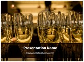 Free Champagne PowerPoint Template Background, FreeTemplatesTheme