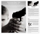 Free Child Gangster Word Template Background, FreeTemplatesTheme
