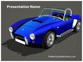 Free Classic Sports Car PowerPoint Template Background, FreeTemplatesTheme