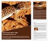 Free Common Iguanas Lizard Word Template Background, FreeTemplatesTheme