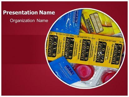 Condom Free PPT Template Theme, freetemplatestheme.com