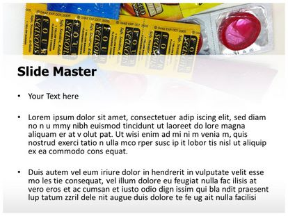 Condom Free PPT Template Theme, PPT Slide2