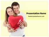 Free Couple In Love PowerPoint Template Background, FreeTemplatesTheme