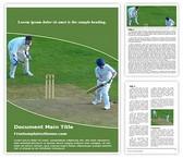 Free Cricket Wicket Keeper Word Template Background, FreeTemplatesTheme