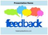 Free Customer Feedback PowerPoint Template Background, FreeTemplatesTheme