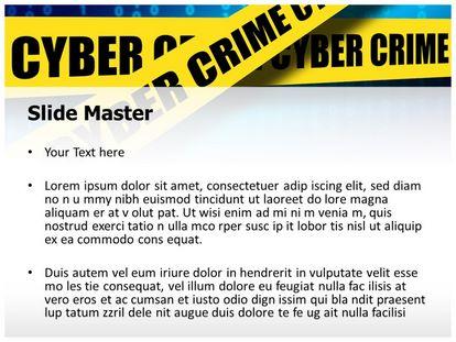 Free cyber crime cell powerpoint template freetemplatestheme slide1g slide2g toneelgroepblik Images