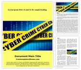 Free Cyber Crime Cell Word Template Background, FreeTemplatesTheme