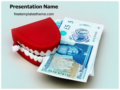 Dental Cost Free PPT Background Template freetemplatestheme.com