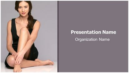 Dermatologist Skin Care Free Powerpoint Background Widescreen, FreeTemplatesTheme