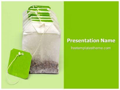 free dip tea bags powerpoint template | freetemplatestheme, Powerpoint Plastic Bag Presentation Template, Presentation templates