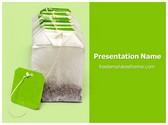 Free Dip Tea Bags PowerPoint Template Background, FreeTemplatesTheme
