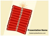 Free Diwali Crackers PowerPoint Template Background, FreeTemplatesTheme