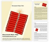 Free Diwali Crackers Word Template Background, FreeTemplatesTheme