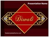 Free Diwali PowerPoint Template Background, FreeTemplatesTheme